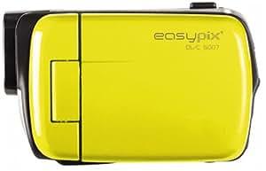 Easypix DVC 5007 Pop Mini Caméscope Numérique 5 Mpix Jaune