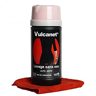 Vulcanet washing without water, premium motorcycle cleaning, car cleaning, 30 uses inc degreaser, bug and tar remover, leather cleaner, helmet visor cleaner and protection