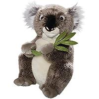 Carl Dick Peluche - Oso de koala con la hoja (felpa, 30cm) [