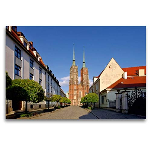 Calvendo Premium Textil-Leinwand 120 cm x 80 cm quer, Breslau   Wandbild, Bild auf Keilrahmen,...