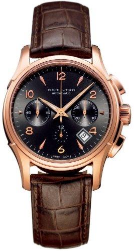 Hamilton Jazzmaster Auto Chrono Oro Rosa Reloj H32646595