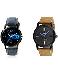 Watch Me Gift Combo Set For Him/Watches For Men/Watches For Boys (watches 3 Combo/watches 2 Combo) WMC-002-BR-WMC... - B0778DYFXM