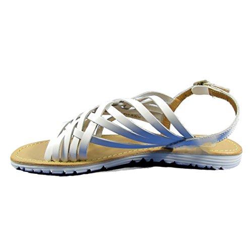 GIOSEPPO - Nu-pieds en cuir Femme GIOS EPPO - VOLNAY - Nu-Pieds - 36 au 41 Blanc