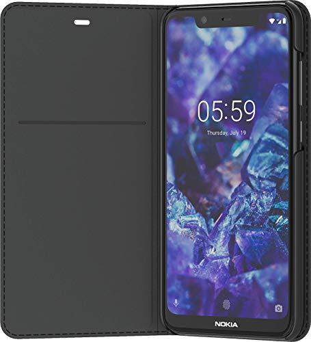 Nokia 8P00000015 Entertainment Flip-Cover 'CP-251' für Nokia 5.1 Plus Schwarz