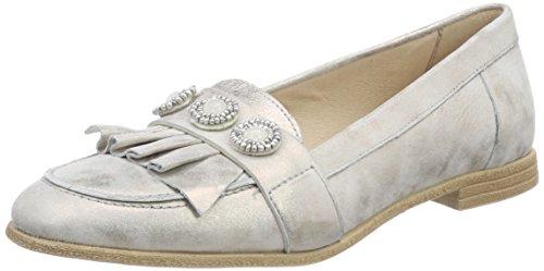 Mjus Damen 716114-0101-6371 Slipper, Silber (Fossile), 38 EU