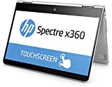 "HP Spectre x360 13-ac000ns - Portátil convertible de 13.3"" Full HD (Intel Core i7-7500U, 8 GB de RAM, 256 GB de SSD, Intel HD 620, Windows 10 Home 64), color Plateado natural"
