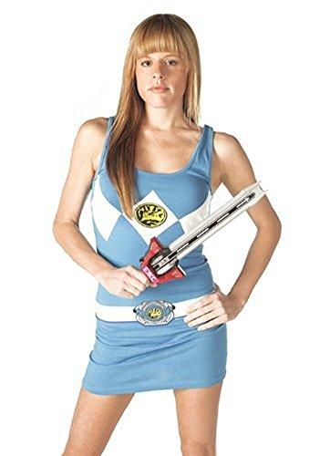 Power Rangers The blau Tunic Tank Kleid With Socken (Junior (Ranger Kleider Power)