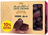 DATE CROWN Medjool Dates, 550gm
