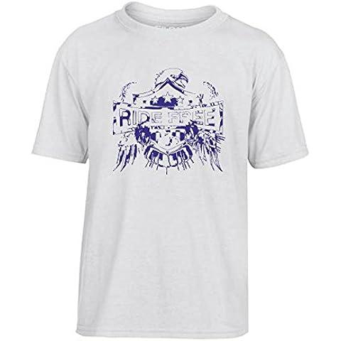 T-Shirtshock - T-shirt Bambino TB0026 ride free