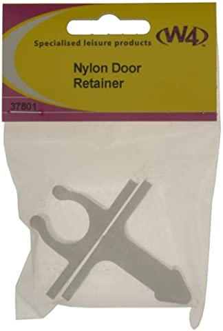 W4 Nylon Door Retainer - White