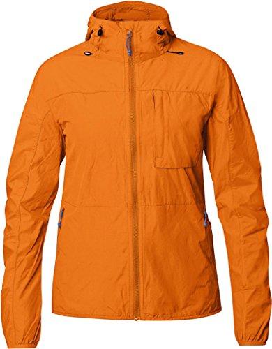 Fjällräven Damen High Coast Wind Jacket W Softshelljacke Seashell Orange