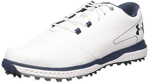 Under Armour Herren Fade Rst 2 E Golfschuhe, Weiß (White/ Steel/ Academy (100) 100), 44 EU