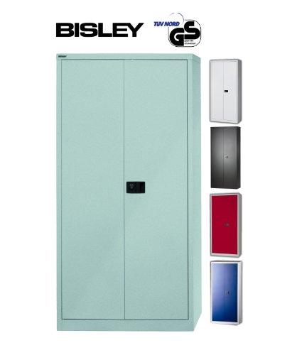 BISLEY Aktenschrank | Werkzeugschrank | Flügeltürenschrank aus Metall abschließbar inkl. 3...