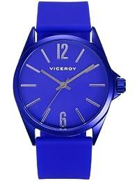 Reloj Viceroy de mujer. Modelo 432196-35. Esfera redonda de color azul