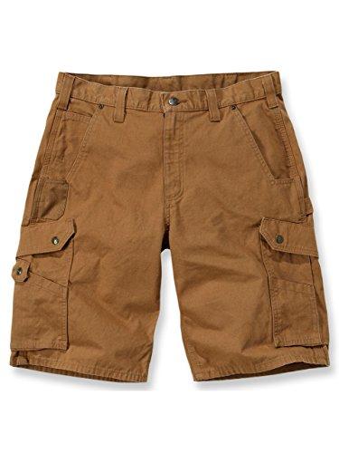 Carhartt Ripstop Cargo Work Shorts Braun 33