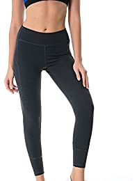 huateng Medias de Estiramiento de Yoga para Mujer Pantalones Casuales  Medias de Ejercicio Medias Leggings Medias e82d6d321beeb