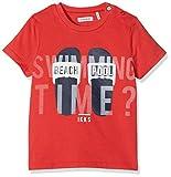 IKKS Junior T Shirt (Rouge Moyen 36), 18-24 Mois (Taille Fabricant:2A) Bébé garçon
