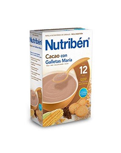 Nutribén - Papilla Cacao Galletas María Nutribén