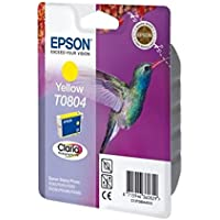 Epson Original T0804 Yellow Ink Cart