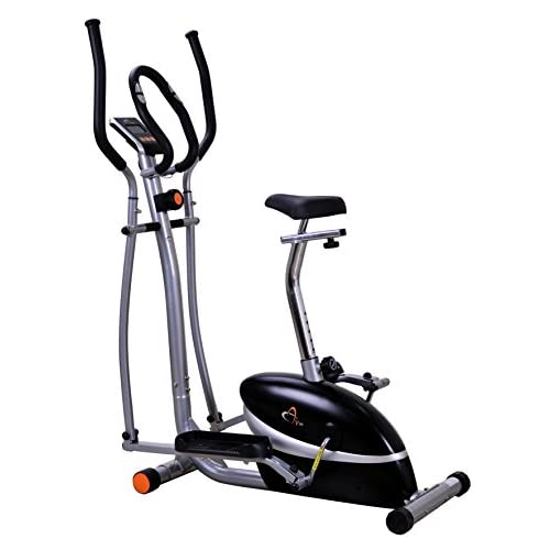 41dMwmp4HbL. SS500  - V-fit MCCT1 Combination 2-in-1 Magnetic Cycle and Elliptical Trainer