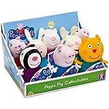 Joy Toy 34515117cm Peppa Pig de peluche, 8 modelos [1 Unidad] Modelos surtidos