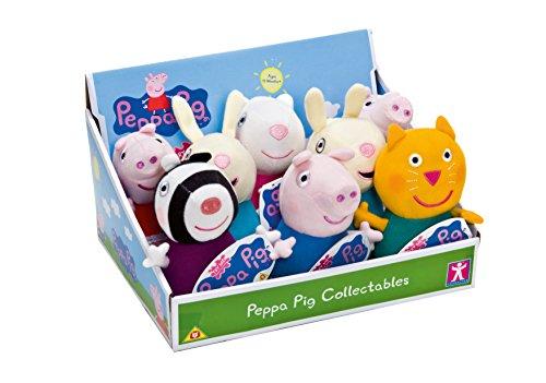 �sch 8 verschiedene Motive, 17 cm ,Sortiert (Peppa Pig Plüsch Spielzeug)