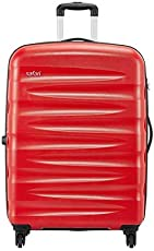 Safari Polycarbonate 30 inches Scarlet Red Hardsided Check-in Luggage (WEDGE774WSRE)