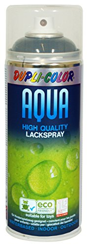 Dupli Color 252549 Aqua RAL 9005 Nero Profondo Lucido 350 ml