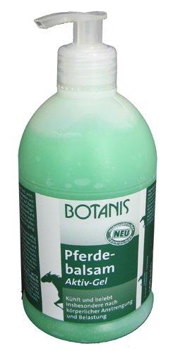 BOTANIS Pferdebalsam Aktiv Gel zum Pumpen 500ml, kühlt und belebt die Haut, wirkt vitalisierend und erfrischend