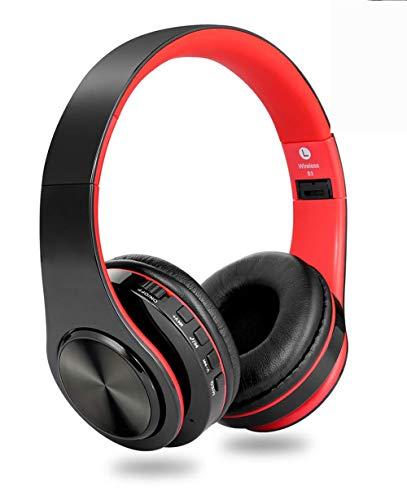 Bluetooth Kopfhörer,Sfuzwg Kopfhörer Kabellose Stereo Faltbare Headset Over Ear Kopfhörer mit Integriertem Mikrofon für Handys/iPad/Laptops & PC