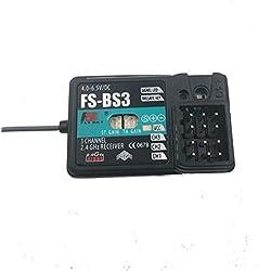 Flysky FS-BS3 3CH Receptor a prueba de fallas para Flysky FS-GT2 FS-GT2B FS-GT3B FS-GT3C FS-T4B FS-CT6B FS-T6 Transmisor RC Car Boat