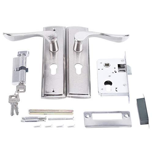 Türgriff Schloss TOPINCN Durable Türgriff Schließzylinder Front Back Lever Latch Home Security mit Schlüssel