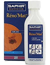 Saphir - Limpiador y quitamanchas de cuero liso