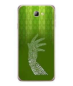 PrintVisa Designer Back Case Cover for Samsung On5 (2016) (Designer Arm Hand)