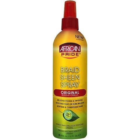 African Pride Braid Sheen Spray Original 360