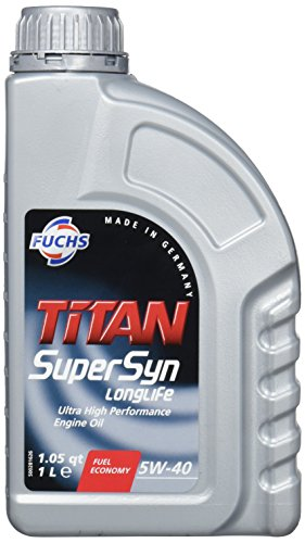 Fuchs 600721602 Motoröl Titan Supersyn Longlife 5W-40 1L