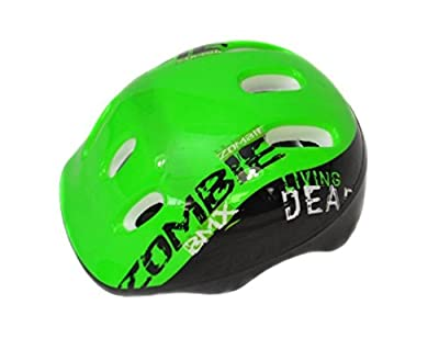 COYOTE BICYCLE CYCLE BIKE CHILDS KIDS JUNIOR BMX BOYS ZOMBIE HELMET 48-54cm from Coyote