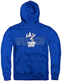 Muay Thai Sweat ? capuche. Respect Your Enemies, Thumbsdown Proud & Glory. MMA Hoodie