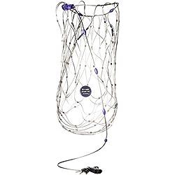 Pacsafe - Anti-Diebstahl Rucksack- und Taschenschutz, Drahtkäfig Schutz-System mit Schloß für Rucksäcke, Reisegepäck Netz, Diebstahlschutz, Neutral, 75-120 Liter