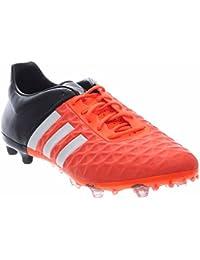 wholesale dealer df09d 0140f Adidas Performance Ace 15,2 FG AG Chaussures de Football, Noir Argent