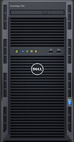 Dell PowerEdge T130 3 GHz E3 – 1220 V6 290 W Mini Tower Server – Servers (3 GHz, Intel Xeon E3 V6, E3 – 1220 V6, 8 MB, 8 GT/s, 3.5 GHz)