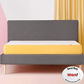 eve Sleep Original Memory Foam Mattress | EU Single, Breathable, 90 x 200 cm, 10 Year Warranty, Which? Best Buy 2018 Mattress (B019DRUUAA) | Amazon price tracker / tracking, Amazon price history charts, Amazon price watches, Amazon price drop alerts