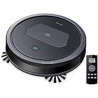 Homasy Robots - Aspirador potente 1300 PA, silencioso y mando a distancia, carga automática