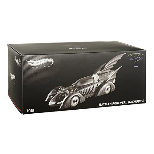 Hotwheels Elite - Coche a escala Batman, 1:18 (BCJ98)