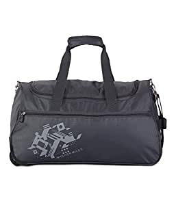 Nasher Miles Flanders Polyester 55CM Soft-Sided Duffle Bag Grey Medium
