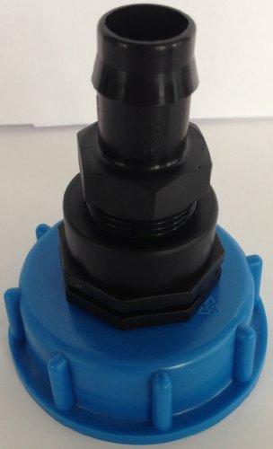 cm133187 kappenverschraubung S60 x 6 IG avec raccord fileté 3/10,2 cm kunststoffftülle 3/4, raccord adaptateur de cuve eau IBC Accessoires Boîte Boîte à