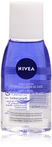 Nivea - Desmaquillador de ojos, doble acción, 125 ml