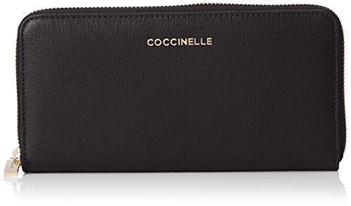 Coccinelle borsa donna Metallic Saffiano Business, 2x 8x 10cm, Multicolore (Multicolore (Noir 001)), 2x8x10 cm