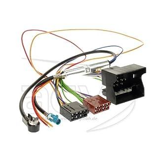 ACV 1230-45 Radioanschlusskabel für OPEL (Quadlock, Phantomeinspeisung, ISO)