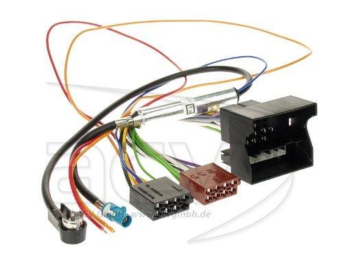 ACV 1230-45Radio cavo di collegamento per Opel (Quadlock, alimentazione Phantom, ISO) - Nissan Radio Cablaggio